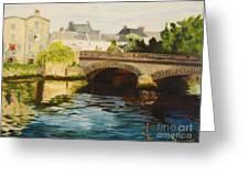 The Irish Bridge Greeting Card