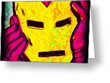The Iron Scream Greeting Card
