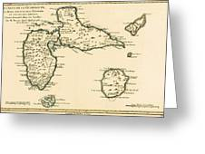 The Islands Of Guadeloupe Greeting Card