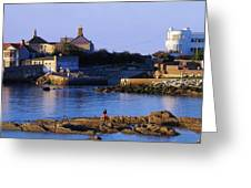 The James Joyce Tower, Sandycove, Co Greeting Card