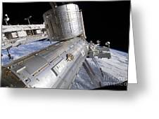 The Japanese Experiment Module Kibo Greeting Card