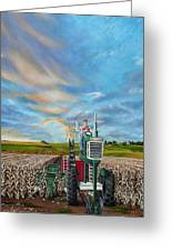 The Journey Of A Farmer Greeting Card