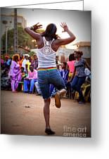 The Joy Of Dance Greeting Card