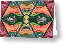 The Joy Of Design V Arrangement Nature Matters Greeting Card