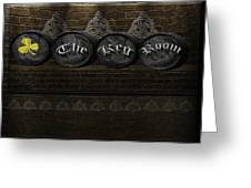 The Keg Room Version 3 Greeting Card