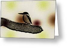The Kingfisher Greeting Card