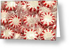The Land Of Peppermint Candy Square Greeting Card