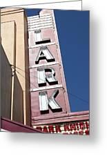 The Lark Theater In Larkspur California - 5d18489 Greeting Card