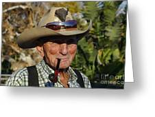 The Last Cowboy Of The West Greeting Card