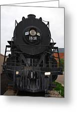 The Last Iron Horse Loc 1518 In Paducah Ky Greeting Card