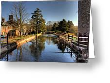 The Leat Greeting Card