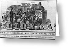 The Liberator Masthead Greeting Card