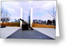 The Liberty State Park 911 Memorial Greeting Card