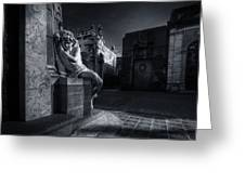 The Little Angel Recoleta Cemetery Ba Greeting Card