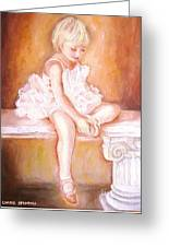 The Little Ballerina Greeting Card