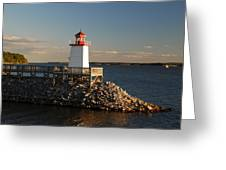 The Little Lighthouse Greeting Card