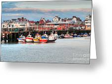 The Lobster Quay Greeting Card