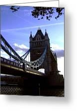 The London Tower Bridge Greeting Card