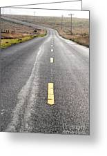 The Long Road Home . 7d9898 Greeting Card by Wingsdomain Art and Photography