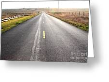 The Long Road Home . 7d9903 Greeting Card