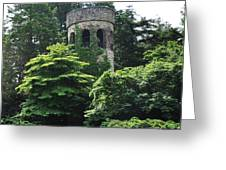 The Longwood Gardens Castle Greeting Card