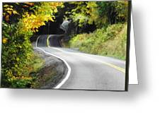 The Low Road Greeting Card