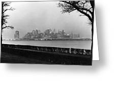 The Lower New York Skyline Greeting Card