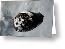 The Lunar Module Spider Of The Apollo 9 Greeting Card