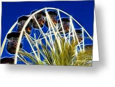 The Magic Ferris Wheel Ride Greeting Card
