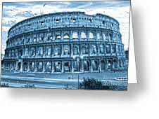 The Majestic Coliseum Greeting Card by Luciano Mortula