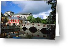 The Mall, Westport, Co Mayo, Ireland Greeting Card