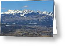 The Mancos Valley Greeting Card