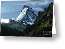 The Matterhorn Greeting Card