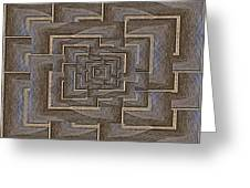 The Maze Within Greeting Card
