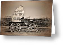 The Milk Wagon Greeting Card