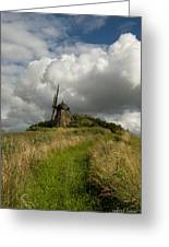 The Mill At Aarup Greeting Card