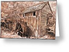 The Mill At Cade's Cove Greeting Card