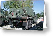 The Mk48 Logistics Vehicle System Greeting Card
