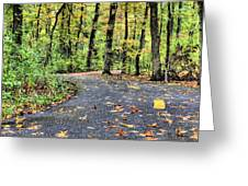 The Mount Vernon Trail. Greeting Card
