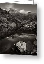 The Mountains Of Aiguestortes Greeting Card