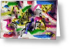 The Music In Me Greeting Card