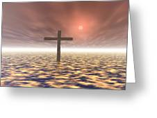 The Mystery Of The Cross Greeting Card