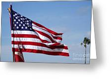 The National Colors And Official Colors Greeting Card