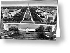 The National Mall Greeting Card
