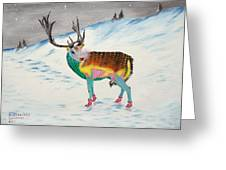 The New Rudolph Greeting Card