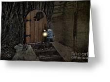 The Nightstalking Elf Greeting Card