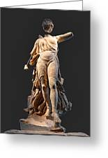 The Nike Of Paeonios - Ancient Olympia Greeting Card