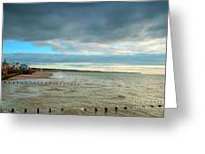 The North Bay Bridlington From The North Pier Greeting Card