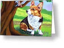 The Oak Tree Fae Greeting Card
