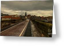 The Old Bridge At Berwick Greeting Card